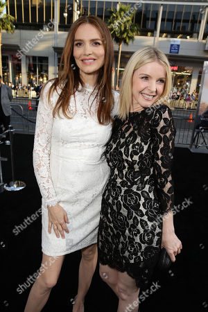 """Saffron Burrows and Jacqueline McKenzie seen at Warner Bros. Premiere of """"The Water Diviner"""", in Los Angeles"""