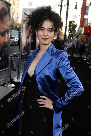 """Delaram Kamareh seen at Warner Bros. Premiere of """"The Water Diviner"""", in Los Angeles"""