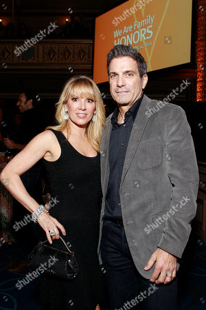 TV personality Ramona Singer and Mario Singer attend the We Are Family Honors Sting & Trudie Styler concert at the Manhattan Center Grand Ballroom on in New York