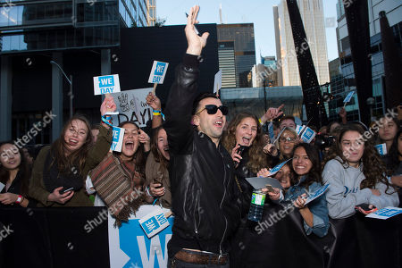 Jacob Hoggard of Hedley seen at We Day, in Toronto