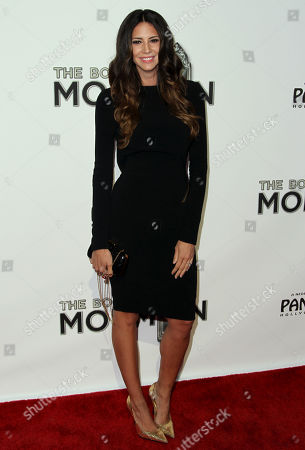 """Hope Dworaczyk attends the West Coast premiere of """"The Book of Mormon"""" at the Pantages Theatre, in Los Angeles"""