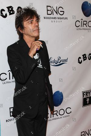 """Musician Frank Infante arrives at the west coast special screening of """"CBGB"""" at ArcLight Hollywood on in Los Angeles"""