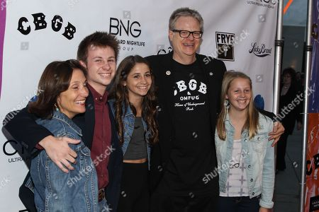 """Stock Image of Producer Brad Rosenberger arrives at the west coast special screening of """"CBGB"""" at ArcLight Hollywood on in Los Angeles"""