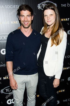 "Bekah Jenkins and Cory Bond attend a screening of ""What Maisie Knew"" hosted by The Cinema Society with Tod's and GQ on in New York"