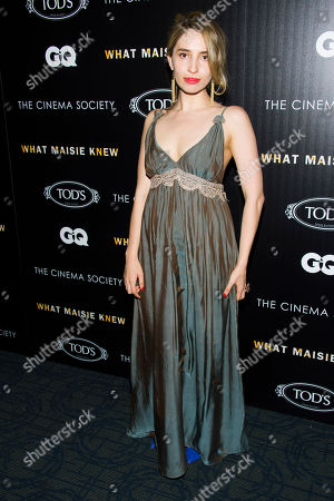 Editorial image of What Maisie Knew Screening NY, New York, USA - 2 May 2013