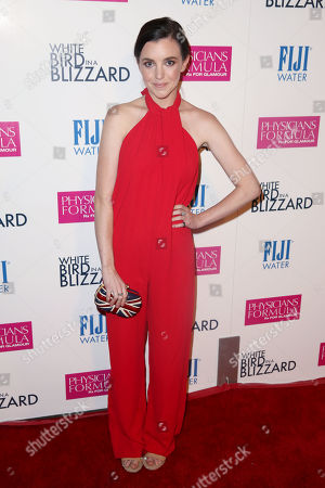 Editorial picture of White Bird in a Blizzard Premiere presented by FIJI Water, Los Angeles, USA - 21 Oct 2014