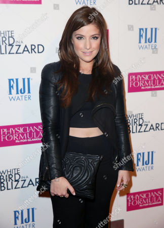 """Mimi Gianopulos arrives at the premiere of """"White Bird in a Blizzard"""" presented by FIJI Water on in Los Angeles"""