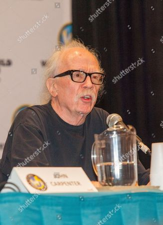Director John Carpenter during the Wizard World Chicago Comic Con at the Donald E. Stephens Convention Center in Rosemont, IL on