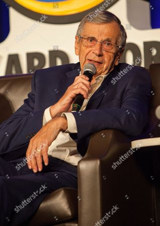 Stock Photo of William B. Davis during Wizard World Chicago Comic-Con at the Donald E. Stephens Convention Center, in Chicago
