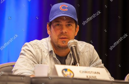 Stock Image of Christian Kane during Wizard World Chicago Comic-Con at the Donald E. Stephens Convention Center, in Chicago