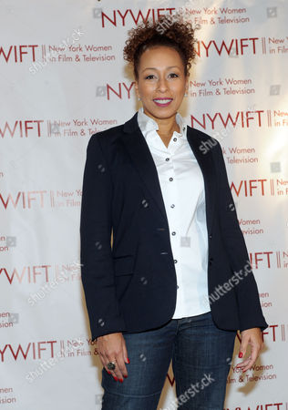 Tamara Tunie attends the 32nd annual Muse Awards presented by New York Women in Film & Television (NYWIFT), in New York, which honored actors Mariska Hargitay and Lucy Liu, WE tv President Kim Martin and documentary filmmaker Lisa F. Jackson