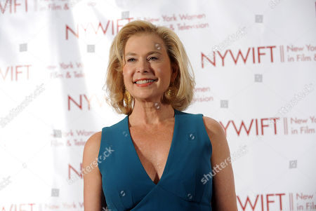 Pamela Morgan attends the 32nd annual Muse Awards presented by New York Women in Film & Television (NYWIFT), in New York, which honored actors Mariska Hargitay and Lucy Liu, WE tv President Kim Martin and documentary filmmaker Lisa F. Jackson