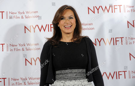 Stock Photo of Mariska Hargitay is honored at the 32nd annual Muse Awards presented by New York Women in Film & Television (NYWIFT), in New York. The event also honored actress Lucy Liu, Kim Martin, President & General Manager WE tv, Lisa F. Jackson, documentary filmmaker, and Debra Zimmerman, of Women Make Movies