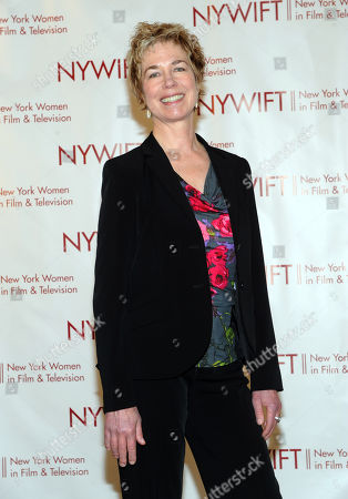 Stock Picture of Lisa F. Jackson, documentary filmmaker, is honored at the 32nd annual Muse Awards presented by New York Women in Film & Television (NYWIFT), in New York. Also honored today were actors Mariska Hargitay and Lucy Liu, and Kim Martin, of WE tv