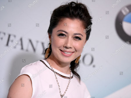 Stock Image of Ayako Fujitani arrives at the Women in Film 2015 Crystal + Lucy Awards at the Hyatt Regency Century Plaza on in Los Angeles