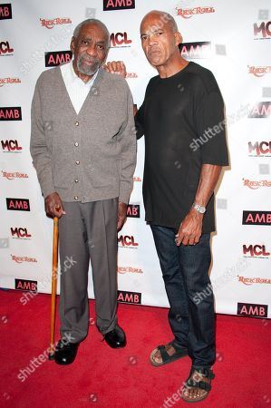 Bill Cobbs, left, and John Wideman attend WordTheatre presents Storytales at FordAmphitheatre on Saturday, Oct, 6, 2012, in Los Angeles, California