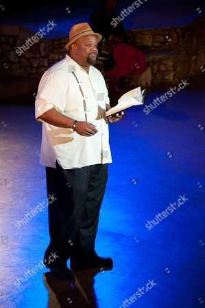 Mark Christopher Lawrence performs at WordTheatre presents Storytales at FordAmphitheatre on Saturday, Oct, 6, 2012, in Los Angeles, California