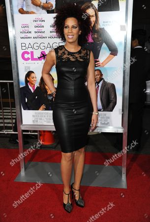 "Editorial picture of World Premiere of ""Baggage Claim"", Los Angeles, USA - 25 Sep 2013"