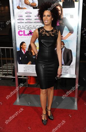 "Stock Picture of Lyn Talbert arrives at the world premiere of ""Baggage Claim"" at the Premiere House at Regal Cinemas L.A. Live on in Los Angeles"