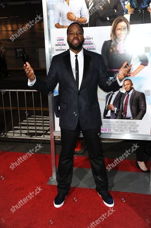 """David E. Talbert arrives at the world premiere of """"Baggage Claim"""" at the Premiere House at Regal Cinemas L.A. Live on in Los Angeles"""