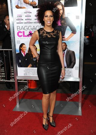 "Lyn Talbert arrives at the world premiere of ""Baggage Claim"" at the Premiere House at Regal Cinemas L.A. Live on in Los Angeles"