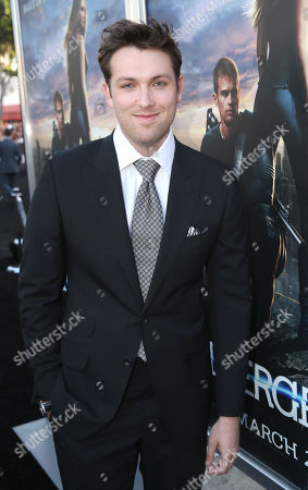 "Christian Madsen arrives at the world premiere of ""Divergent"" at the Regency Bruin Theatre on in Los Angeles"