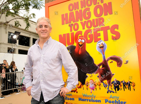"Cast member Carlos Alazraqui poses at the world premiere of ""Free Birds"" at the Regency Village Theater on in Los Angeles"