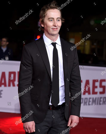 "Stephen Ellis arrives at the world premiere of ""Hail, Caesar!"" at the Regency Village Theatre, in Los Angeles"