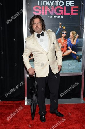 """Mickey Gooch Jr. attends the world premiere of """"How To Be Single"""" at the NYU Skirball Center of Performing Arts, in New York"""