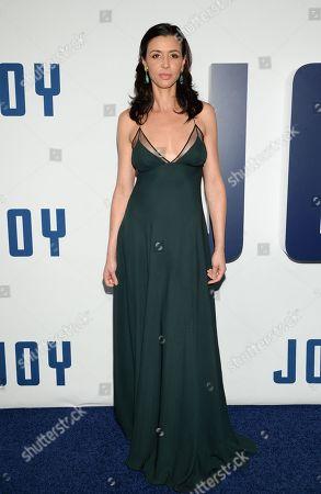 """Drena De Niro attends the world premiere of """"Joy"""" at the Ziegfeld Theatre, in New York"""
