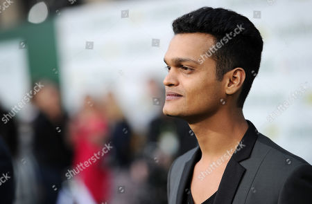 """Madhur Mittal arrives at the world premiere of """"Million Dollar Arm"""" at El Capitan Theatre, in Los Angeles"""
