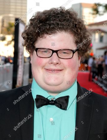 """Jesse Heiman arrives at the world premiere of """"Neighbors"""" at the Regency Village Theatre, in Los Angeles"""