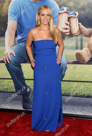 Stock Picture of Jessica Barth attends the world premiere of 'Ted 2' at the Ziegfeld Theatre, in New York