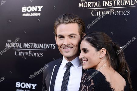 """Editorial photo of World Premiere of """"The Mortal Instruments City of Bones"""" - Arrivals, Los Angeles, USA - 12 Aug 2013"""