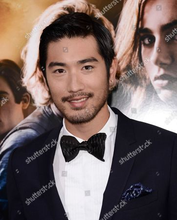 "Actor Godfrey Gao arrives at the world premiere of ""The Mortal Instruments: City of Bones"" at the ArcLight Cinerama Dome on in Los Angeles"
