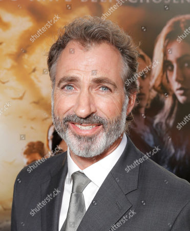 """Harry Van Gorkum arrives on the red carpet at the world premiere of """"The Mortal Instruments: City of Bones"""" at the ArcLight Cinerama Dome on in Los Angeles"""