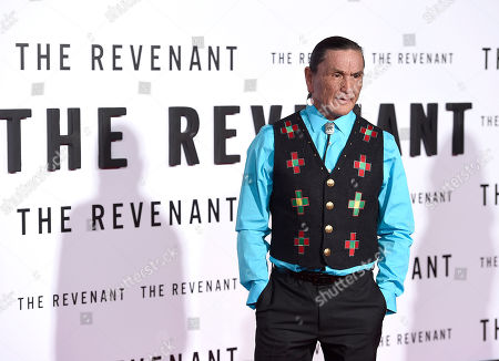 Duane Howard arrives at the world premiere of 'The Revenant' the TCL Chinese Theatre, in Los Angeles