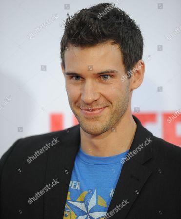 """Stock Image of Zane Stephens arrives at the World Premiere of """"The Internship"""" at the Regency Village Westwood on in Los Angeles"""