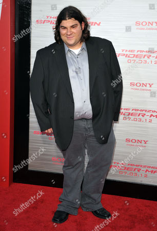"""Michael Barra attends the world premiere of """"The Amazing Spider-Man"""" at the Regency Village Theatre on in Los Angeles"""