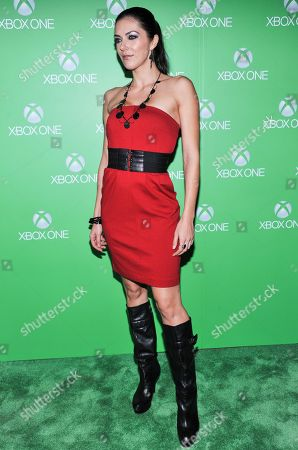 Stock Picture of Adrianne Curry arrives at Xbox One Official Launch Celebration at Milk Studios, on Thursday, November, 21, 2013 in Los Angeles