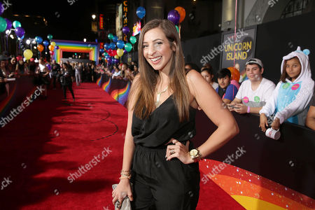 Gabbie Hanna seen at YouTube star Lilly Singh debuts the World Premiere of 'A Trip to Unicorn Island' at TCL Chinese Theatre, in Hollywood, CA