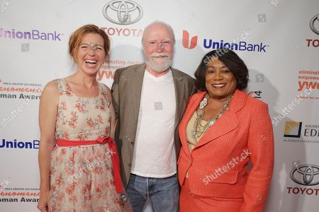 Tanna Frederick, Scott Wilson and YWCA Greater Los Angeles President & CEO - Faye Washington seen at YWCA Greater Los Angeles Phenomenal Woman of the Year Award at the Omni Los Angeles Hotel, in Los Angeles, CA
