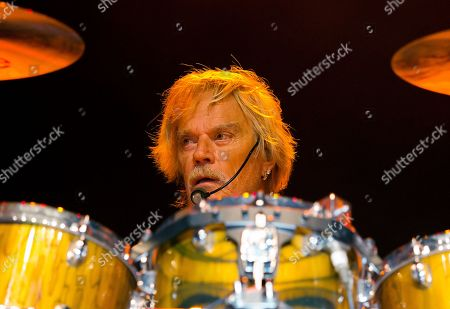 ZZ Top drummer Frank Beard performs at Blue Hills Bank Pavilion, in Boston