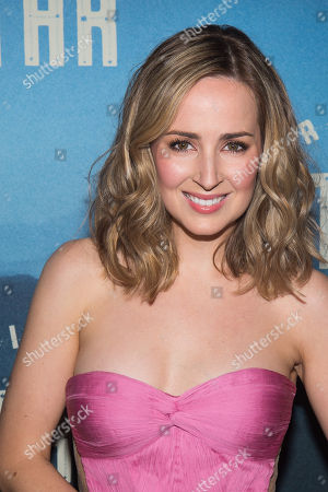 """Stock Picture of Hannah Elless attends the """"Bright Star"""" opening night after party at the Gotham Hall, in New York"""