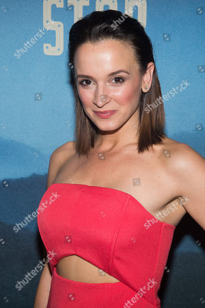 """Emily Padgett attends the """"Bright Star"""" opening night after party at the Gotham Hall, in New York"""