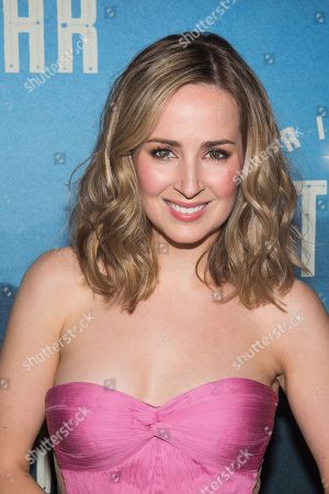 """Hannah Elless attends the """"Bright Star"""" opening night after party at the Gotham Hall, in New York"""
