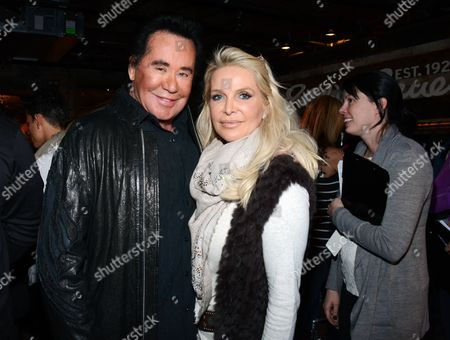 "Wayne Newton and and Kathleen McCrone Newton seen at ""It's So Miami"" lounge,, in Park City, Utah"