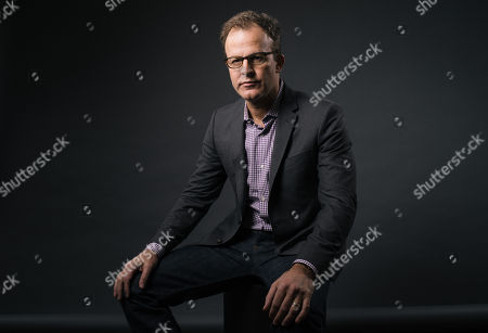 """Thomas McCarthy poses for a portrait during press day for """"Spotlight"""" at The Four Seasons, in Los Angeles"""