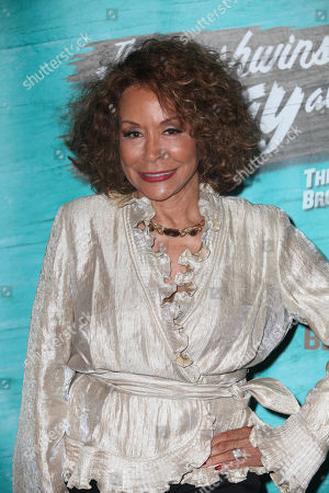 """Actress Freda Payne during the arrivals for the opening night performance of """"The Gershwins' Porgy and Bess"""" at the Center Theatre Group/Ahmanson Theatre, in Los Angeles, Calif"""