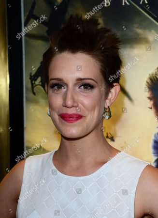 Daniella Kertesz arrives at the World Premiere of 'World War Z' at the Empire Cinema in London on Sunday June 2nd, 2013